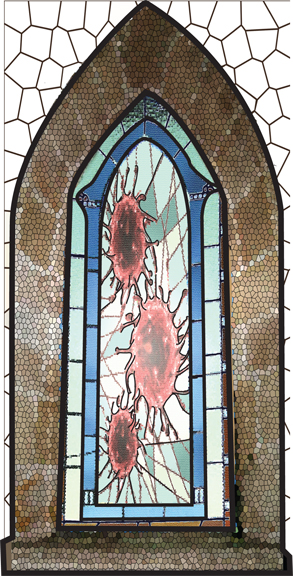 laramie sasseville: stained glass virus